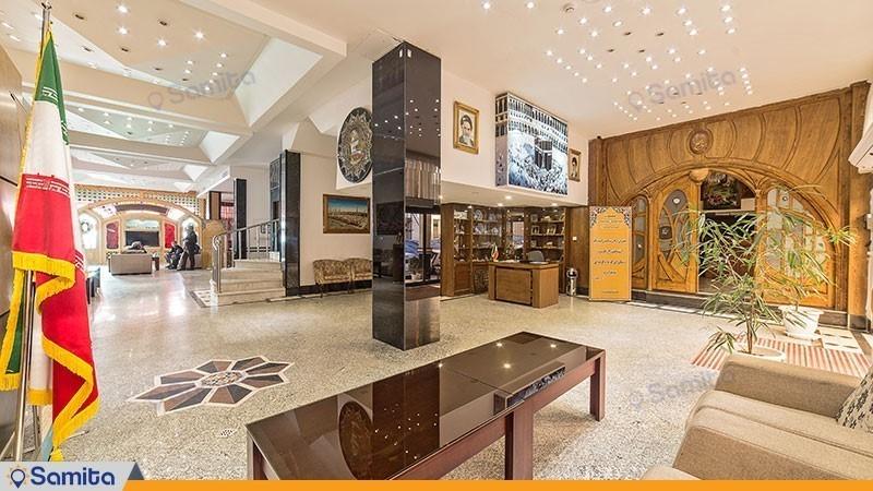 لابی هتل صادقیه مشهد