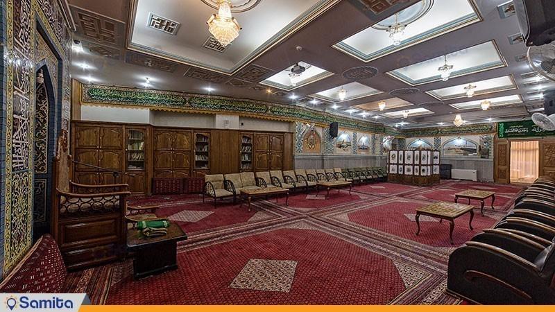 نمازخانه هتل صادقیه مشهد