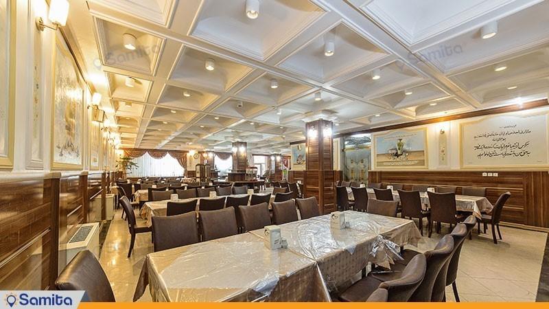 رستوران هتل صادقیه مشهد