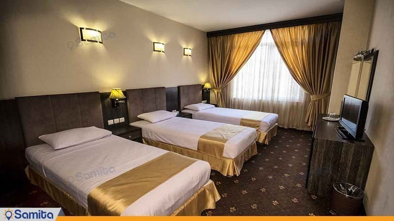اتاق سه تخته هتل سهند