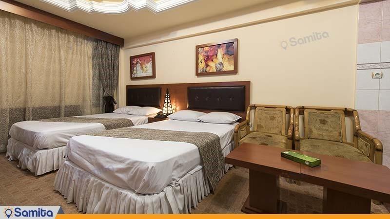 اتاق دو تخته هتل سی برگ