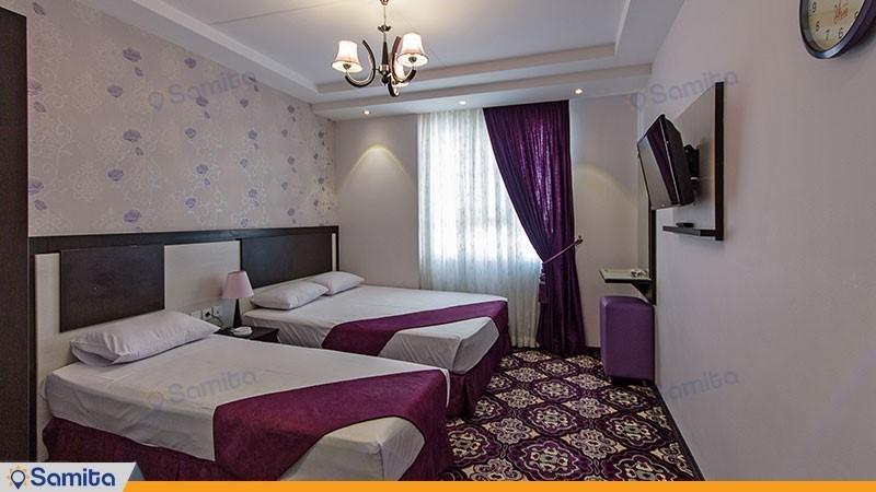 اتاق سه نفره هتل سراج