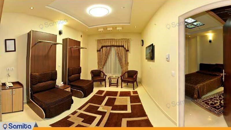 اتاق چهار تخته هتل آپارتمان ستارگان مشهد