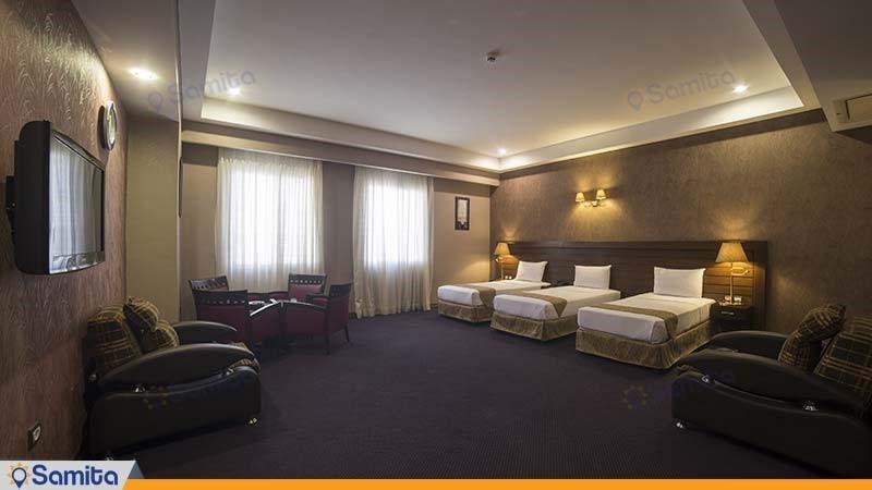 اتاق سه تخته هتل توحید