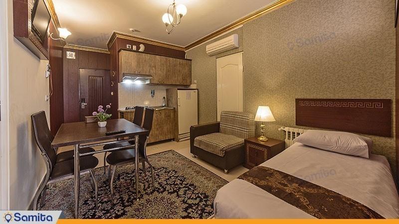 آپارتمان یک خوابه هتل آپارتمان زمرد