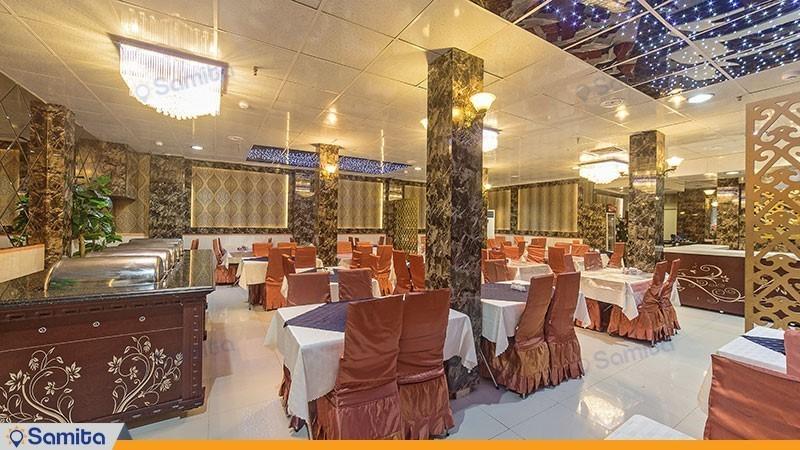 رستوران هتل آپارتمان زمرد