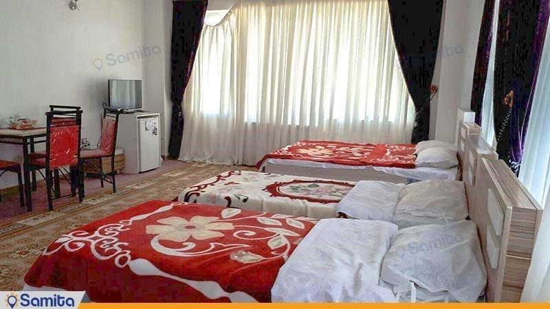 اتاق چهار نفره هتل آران