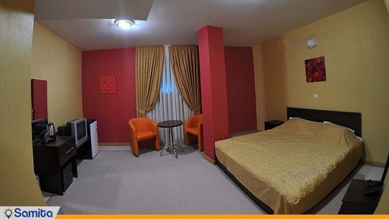 اتاق دبل هتل ساحلی پردیس