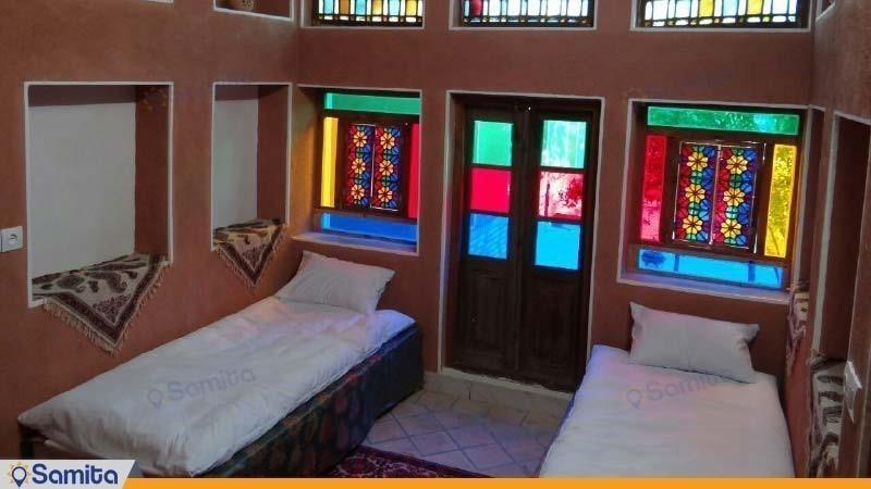 اتاق چهار نفره اقامتگاه بوم گردی خانه نخجیر
