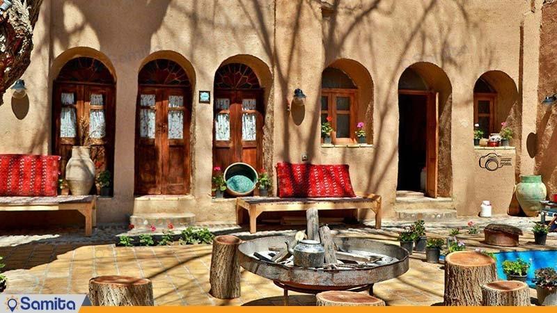 نمای ساختمان اقامتگاه سنتی خانه توسلیان