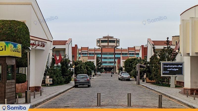 نمای ساختمان هتل نارنجستان