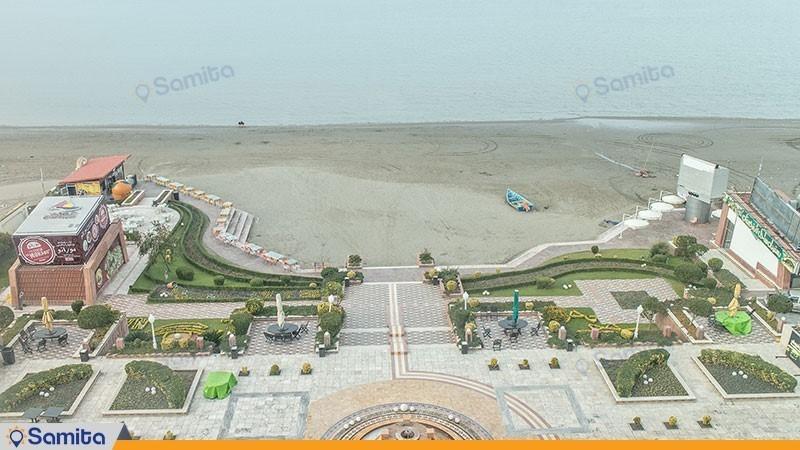 نمای هتل نارنجستان