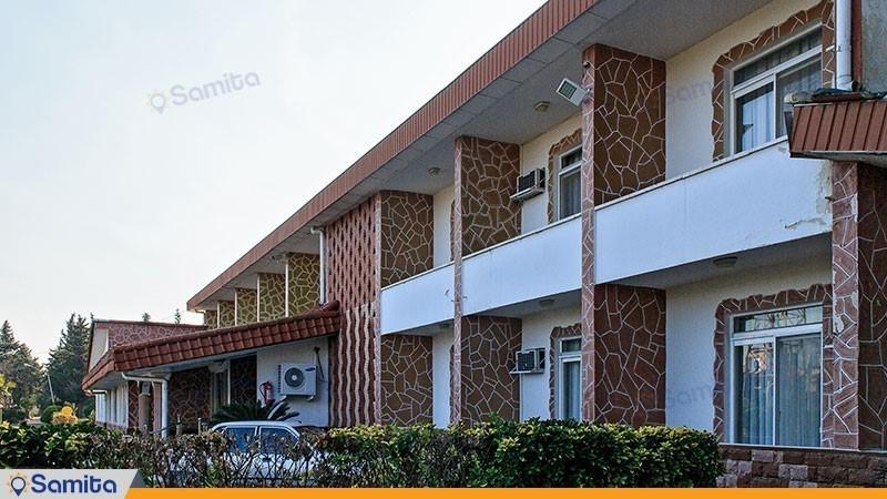 نمای ساختمان مجتمع جهانگردی چلندر