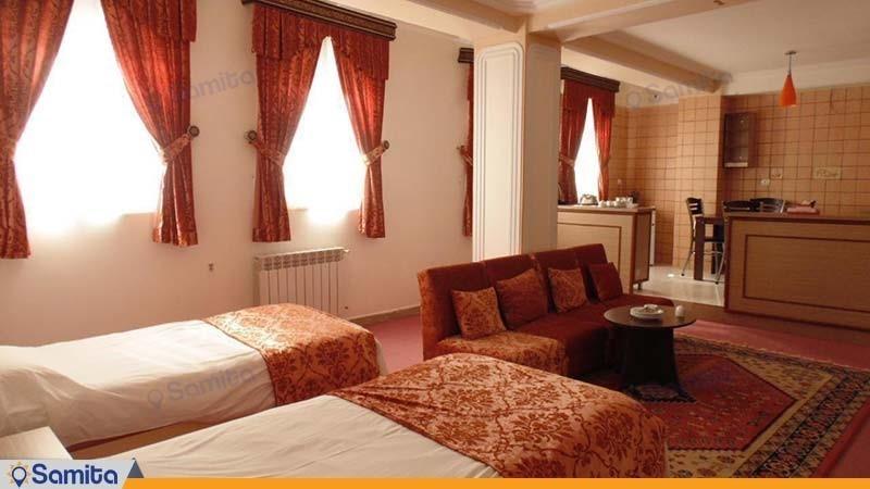 سوئیت چهار نفره هتل قصر اسکو