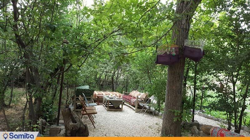 باغ اقامتگاه بومگردی کوشک آقا محمد