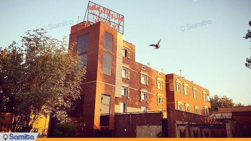 نمای ساختمان هتل ایرانیان