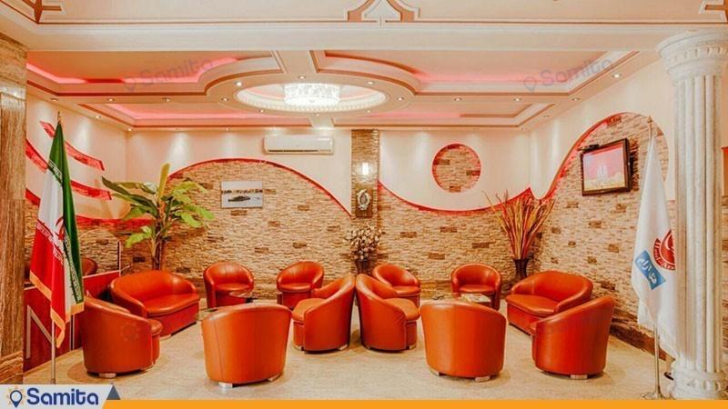 لابی هتل آرام