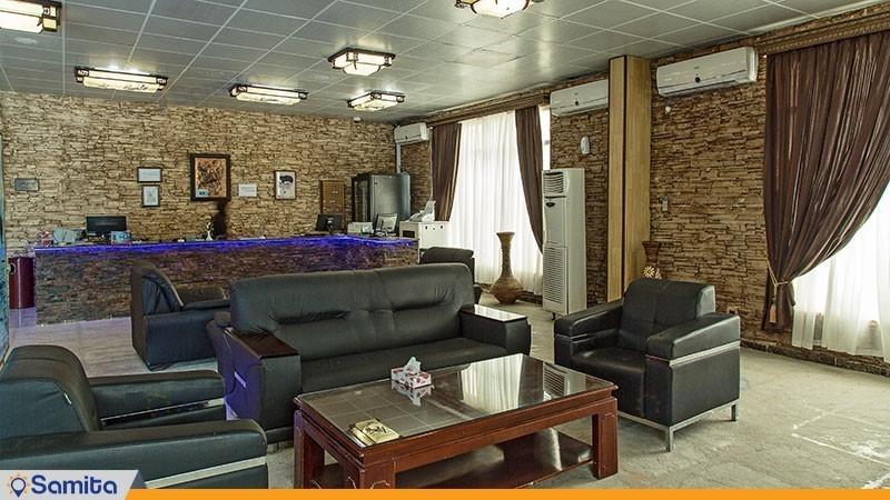 لابی هتل ساحلی خلیج فارس