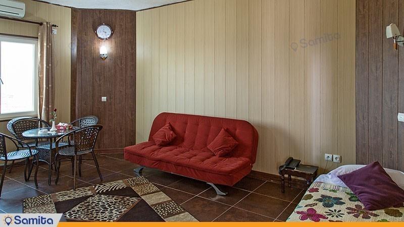 سوئیت یک خوابه هتل ساحلی خلیج فارس