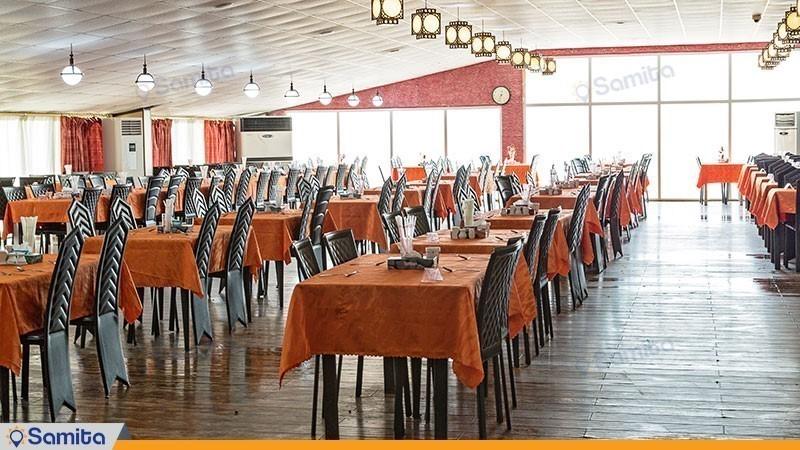 رستوران هتل ساحلی خلیج فارس