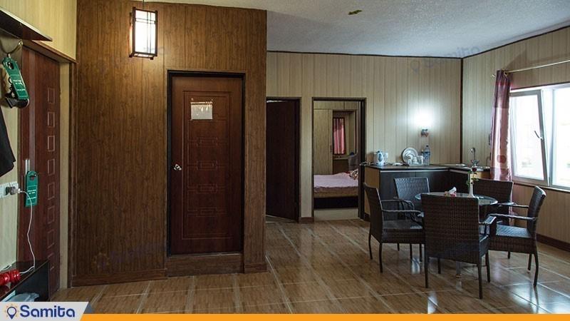 سوئیت دو خوابه هتل ساحلی خلیج فارس