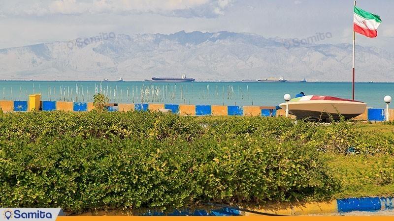 نمای هتل ساحلی خلیج فارس