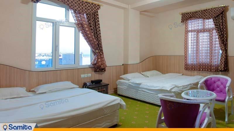 اتاق چهار نفره هتل آپارتمان مارینا 2