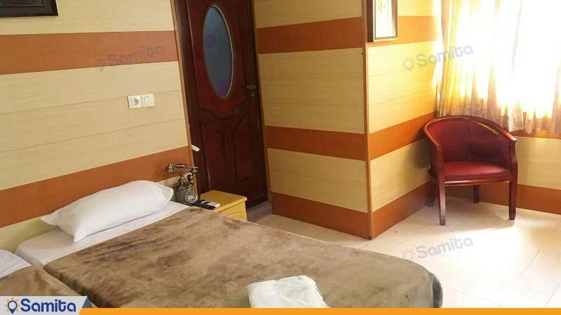 اتاق دو تخته هتل شمس قشم