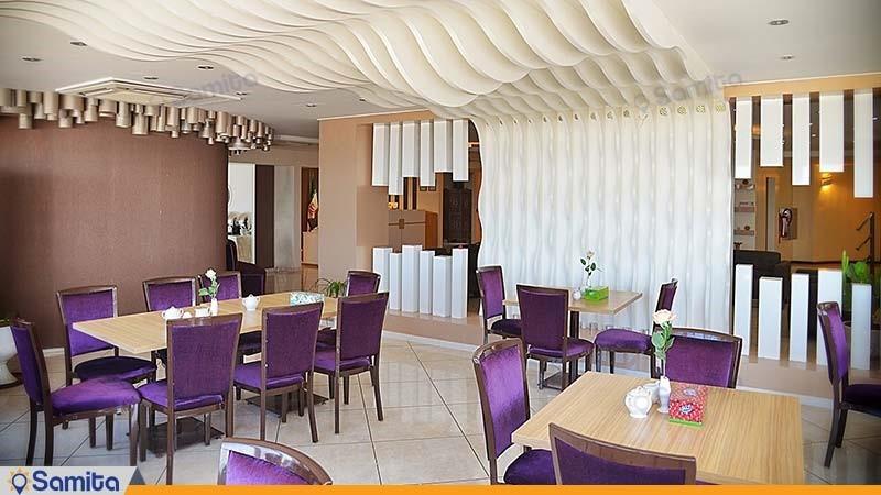 سالن صبحانه خوری هتل سینگو