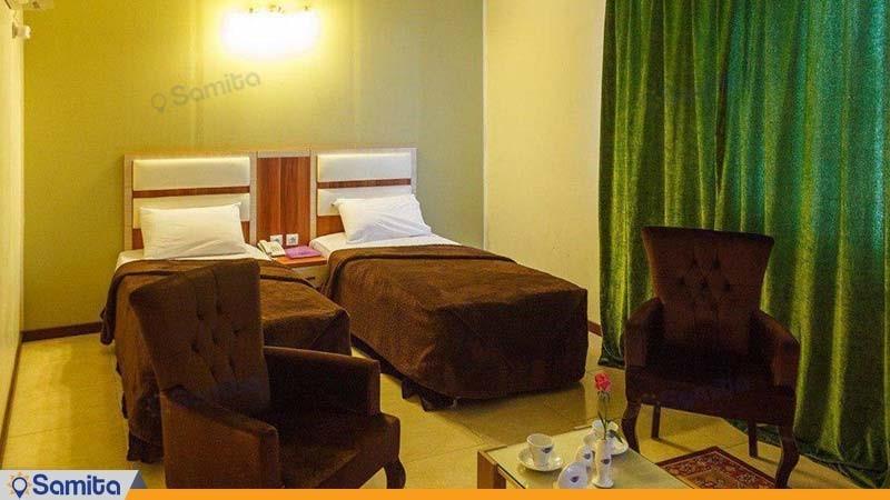 اتاق دو تخته هتل سینگو