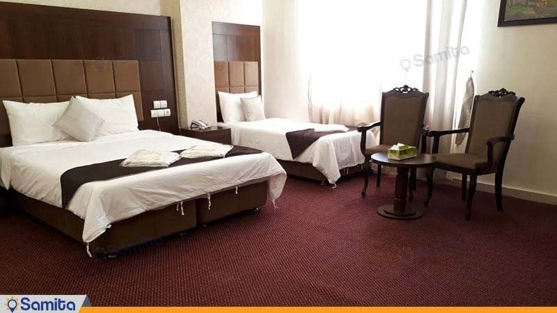 اتاق سه تخته هتل الوند 2