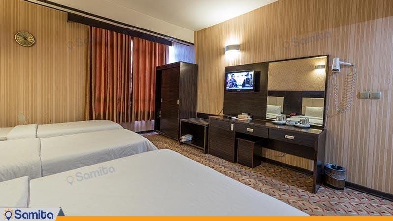 اتاق چهار تخته هتل کریمه
