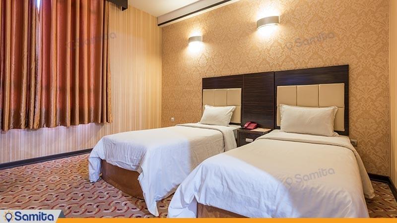 اتاق دو تخته توئین هتل کریمه
