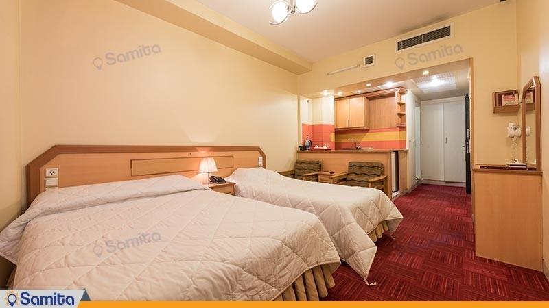 اتاق سه تخته هتل المپیک