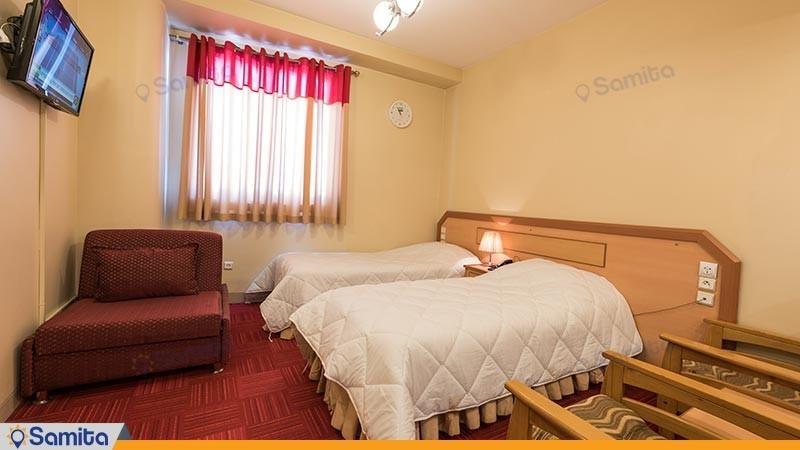 اتاق دو تخته توئین هتل المپیک