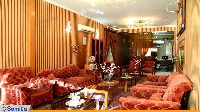 لابی مهمانسرای جهانگردی رفسنجان