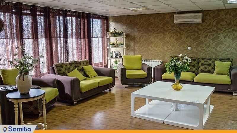 لابی هتل بام سبز