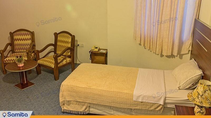 اتاق دو تخته هتل بزرگ ملکشاه