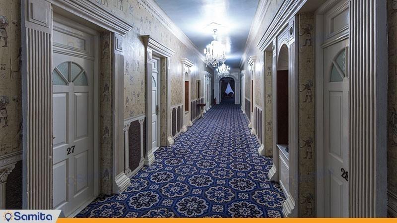 راهرو هتل پارسیان آزادی رامسر