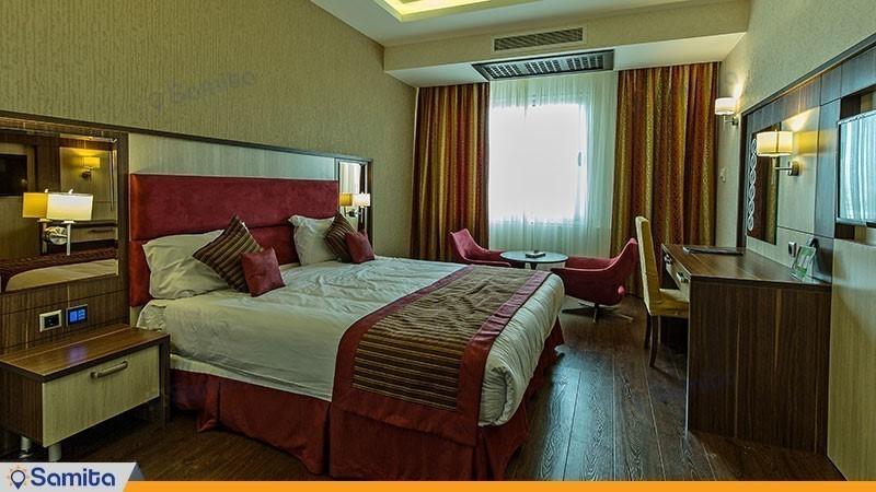 اتاق دبل بازسازی شده هتل پارسیان آزادی رامسر