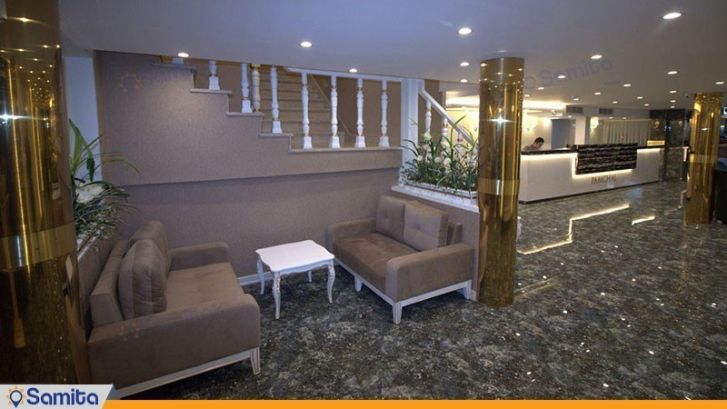 لابی هتل پامچال رشت