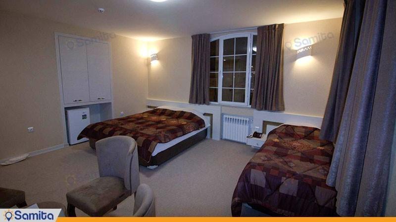 اتاق سه تخته هتل پامچال رشت