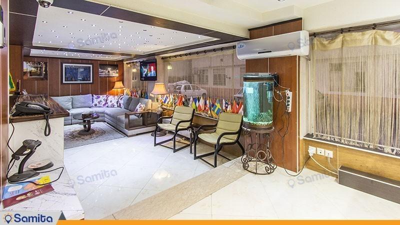 لابی هتل شبستان