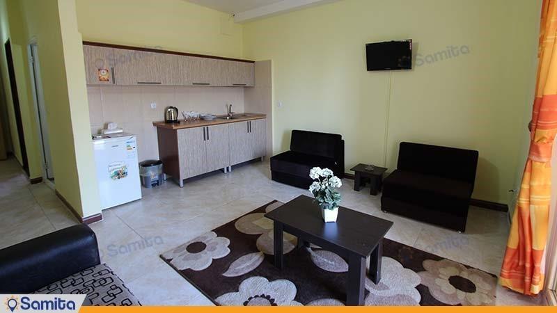 سوئیت دبل با نمای ساحل هتل بهار رودسر