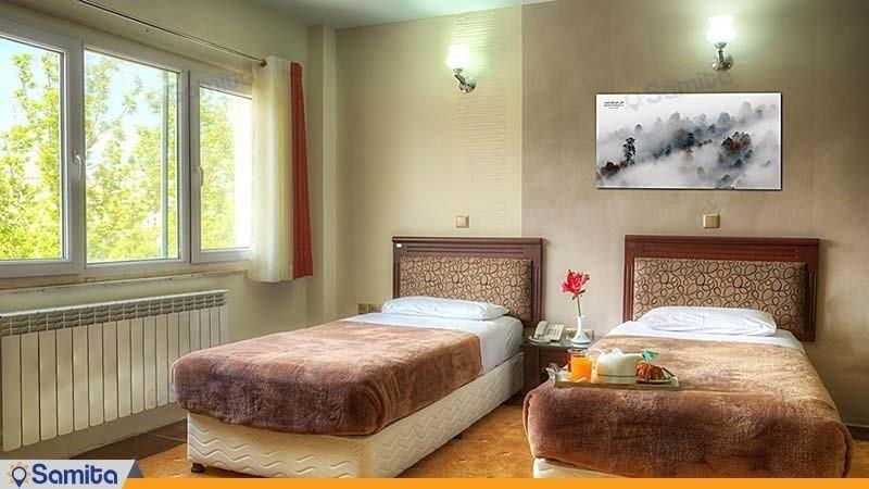 اتاق سه تخته هتل جهانگردی سنندج