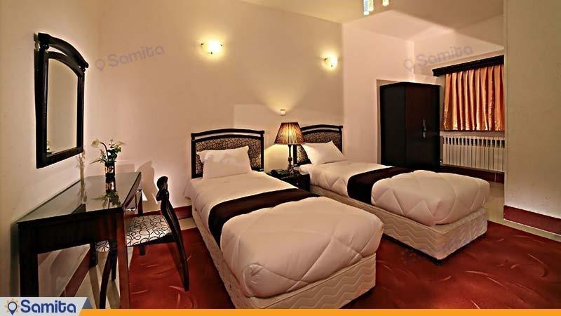 اتاق دو تخته هتل جهانگردی سنندج