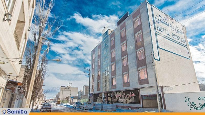 نمای ساختمان هتل بوستان