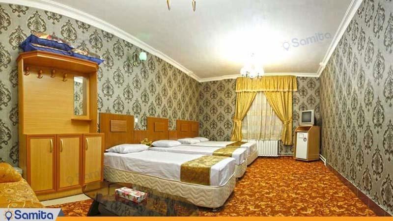 اتاق چهار نفره هتل بوستان