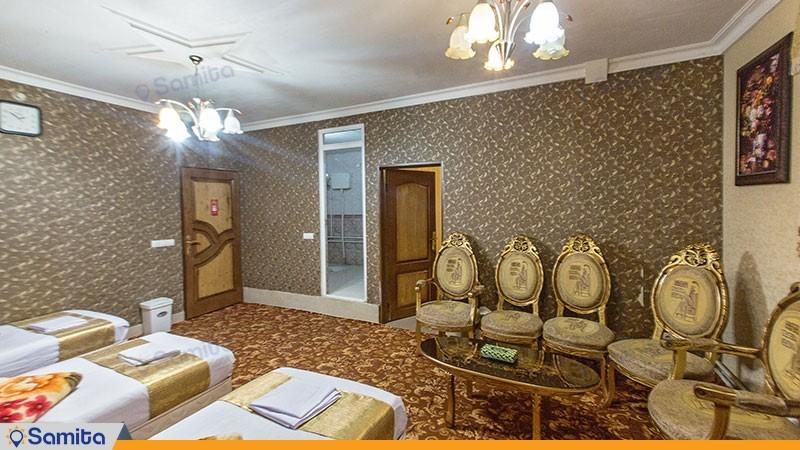 سوئیت پنج نفره هتل بوستان