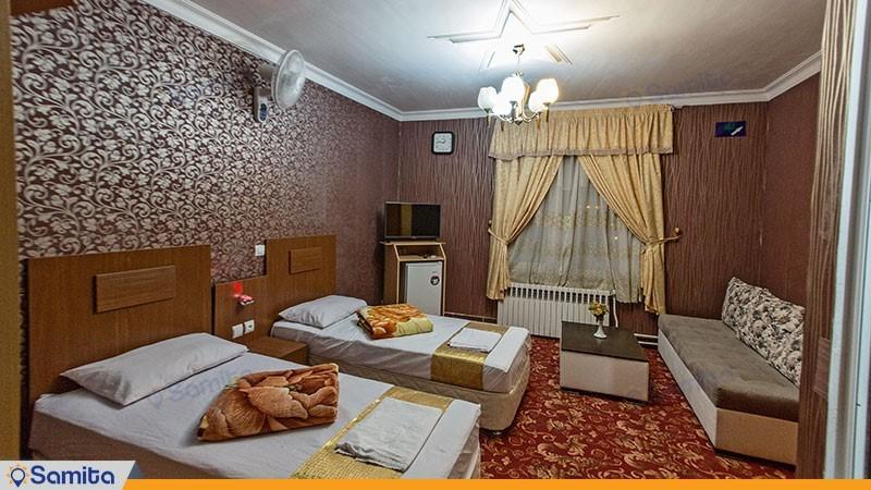 اتاق دو تخته هتل بوستان